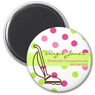 Cleaning Service Magnet
