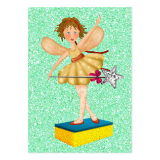 Cleaning Service / Mother's Helper - SRF Large Business Card
