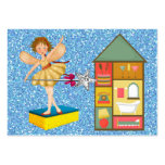 Cleaning Service / Mother's Helper - SRF Large Business Cards (Pack Of 100)