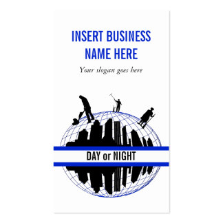 Cleaning Service professional PERSONALIZE Double-Sided Standard Business Cards (Pack Of 100)