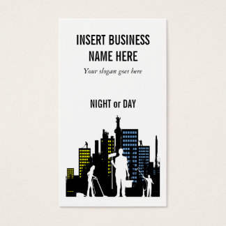 Cleaning Service professional PERSONALIZE Business Card