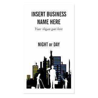Cleaning Service professional PERSONALIZE Business Card Templates
