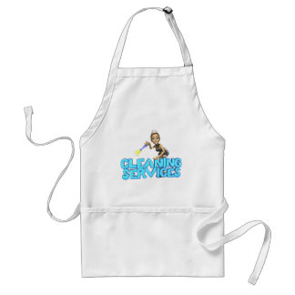 Cleaning Services Adult Apron