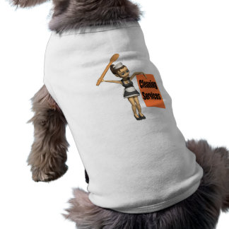 Cleaning Services Doggie Tshirt