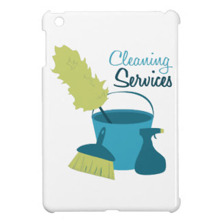 Cleaning Services iPad Mini Covers