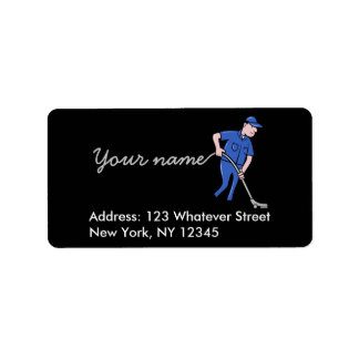 Cleaning Services personalised Label
