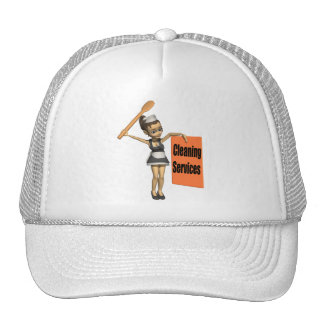 Cleaning Services Trucker Hat
