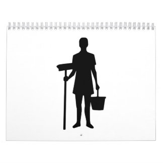 Cleaning staff calendar