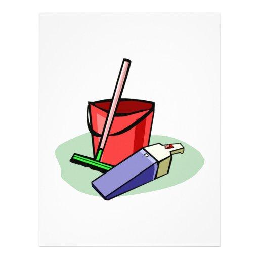 Cleaning Supplies Custom Letterhead