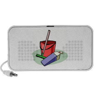 Cleaning Supplies Travel Speakers