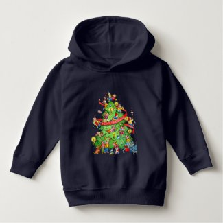 Cleaning The Christmas Tree T-shirt