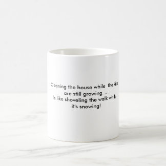 Cleaning the house Mug