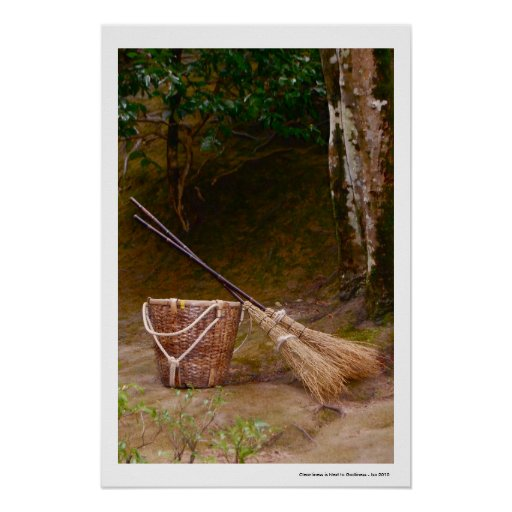 Cleanliness Next To Godliness Print (Unframed Paper Poster Giclee ...