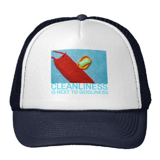 Cleanliness Is Next To Godliness Trucker Hat