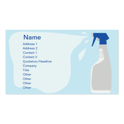 Cleanser - Business Business Card