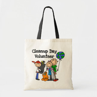Cleanup Day Volunteer T-shirts and Gifts Tote Bag