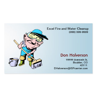 Cleanup Guy Business Card