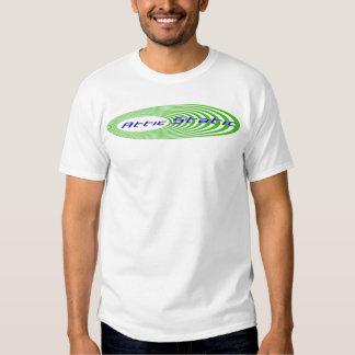 Clear Attic Static logo Shirt