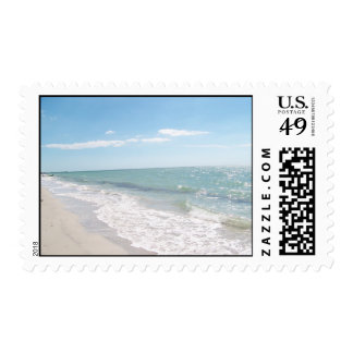 Clear Beach Day Stamp