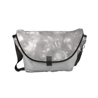 Clear Beads Small Messenger Bag
