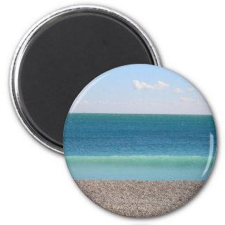 Clear Blue Sea magnet