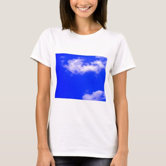 Clear Blue Sky and White Clouds T-Shirt
