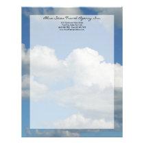 Clear Blue Sky Letterhead