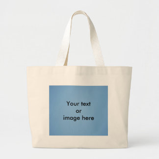 Clear blue sky photo template large tote bag