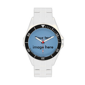 Clear blue sky photo template watches