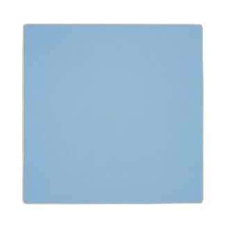 Clear blue sky photo template wood coaster