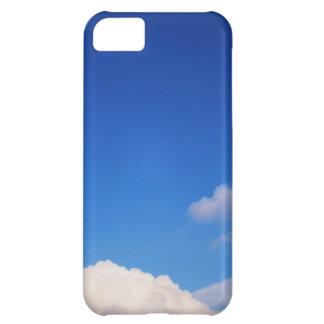 Clear Blue Sky & White Clouds iPhone 5C Case