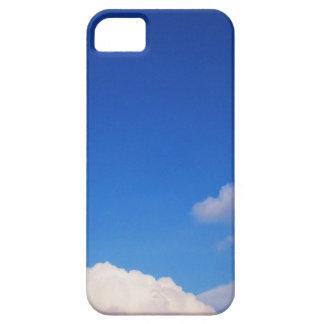 Clear Blue Sky & White Clouds iPhone SE/5/5s Case