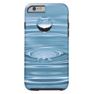 Clear Blue Water Drops Barely There iPhone 6 cases