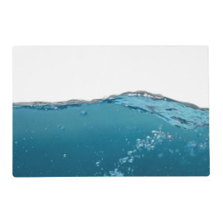 Clear Blue Wave Placemat