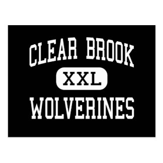 Clear Brook - Wolverines - High - Friendswood Postcard