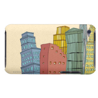 Clear Buildings iPod Touch Cover