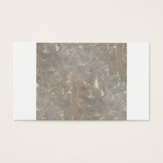 Clear cellophane picture pattern business card