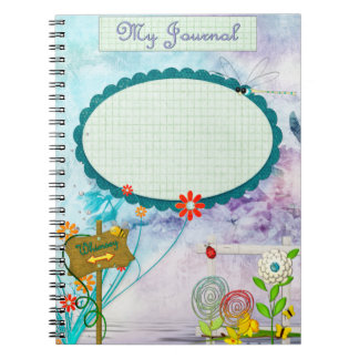 Clear Clue Whimsey Journal CUSTOM Notebook
