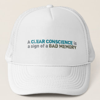 Clear Conscience hat - choose color