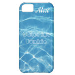 Clear Cool Blue Aquatic Pool Water Swimming Cover For iPhone 5C