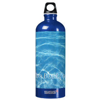 Clear Cool Blue Aquatic Pool Water Swimming Water Bottle