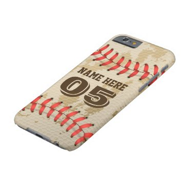 Clear Cool Vintage Baseball Iphone 6/6s Case. Barely There iPhone 6 Case