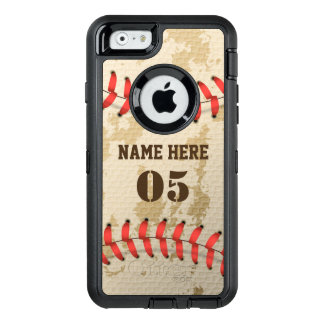 Clear Cool Vintage Baseball Iphone 6 Otterbox