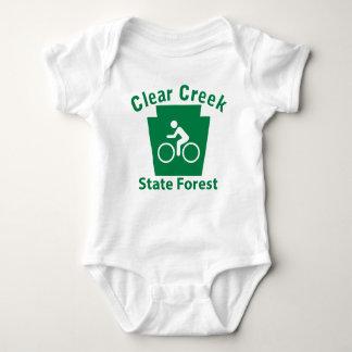 Clear Creek SF Bike Baby Bodysuit