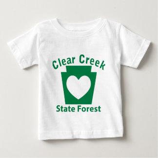 Clear Creek SF Heart Baby T-Shirt