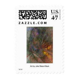 Clear Cut Postage Stamp
