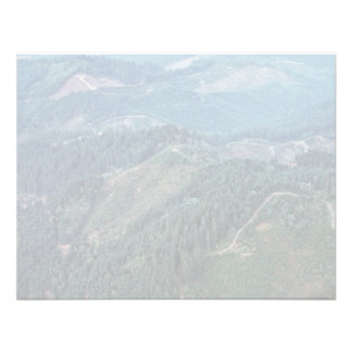 Clear Cuts Old Growth Aerial Personalized Invite