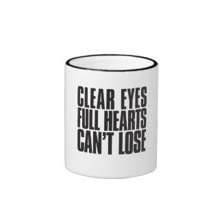 Clear Eyes, Full Hearts, Can't Lose Texas Mug