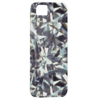 clear gem stone, diamond iPhone SE/5/5s case