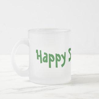 Clear Happy St. Paddy's! St. Patrick's Mug